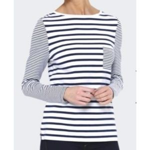 BARBOUR Barnacle Striped Long Sleeve Top